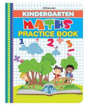 Kindergarten Maths Practice Book - English