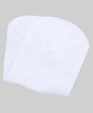 Adore 4 Layer Microfiber Insert For Reusable Diapers - White