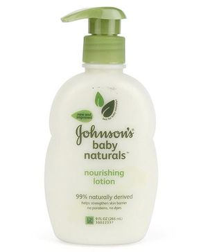 Johnson's baby Naturals Nourishing Lotion - 266 ml
