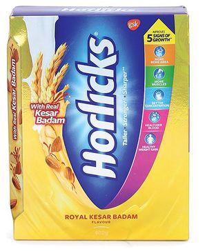 Horlicks Kesar Badam -  400 gm Refill Pack