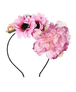 Cutecumber Hair Band With Flower Motif