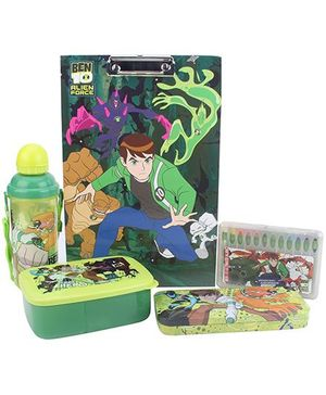 Ben 10 School Kit Set of 5 - Green