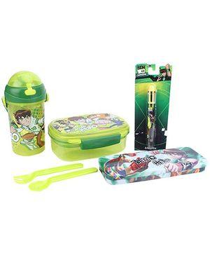 Ben 10 School Kit Pack Of 4 - Green