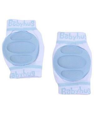Babyhug Knee Protection Pads - White & Blue