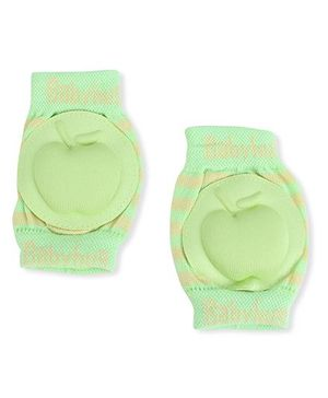 Babyhug Knee Protection Pads Apple Design - Green