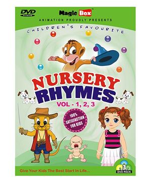 Magicbox Nursery Rhymes DVD Volume 1 2 3 - English