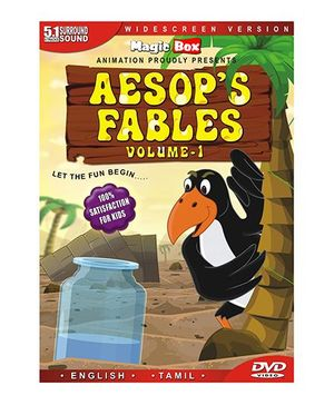 Aesop's Fables Volume 1 DVD - English Tamil