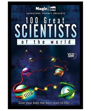 100 Great Scientists Of The World VCD - English