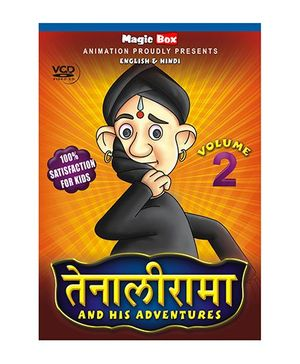 Stories of Tenalirama Volume 2 VCD - English And Hindi