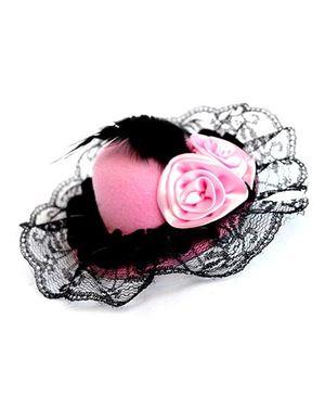 ATUN Hat Hair Clip - Pink