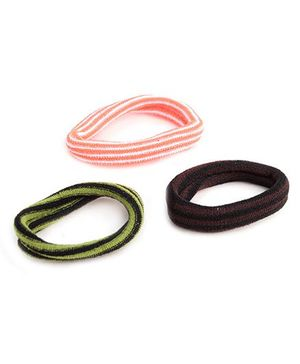 Glixie Hair Rubber - Pack Of 3