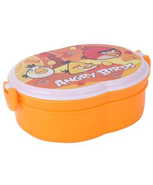 Angry Birds Lunch Box - Orange