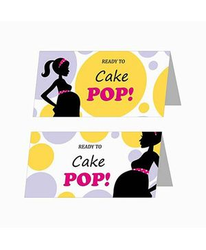 Prettyurparty Ready to POP Baby Shower Food Labels