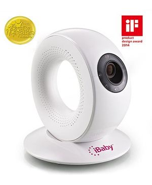 iBaby Wireless Baby Monitor M2 - Off White