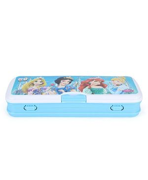 Disney Princess Pencil Box - Aqua And White