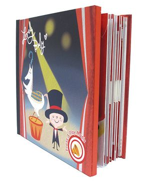 Gifthing Circus Kids Bunny Musical Memory Book - Multicolor