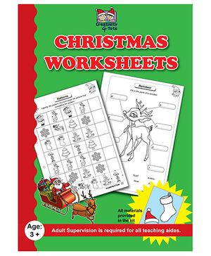 Creativity 4 Tots Christmas Worksheets
