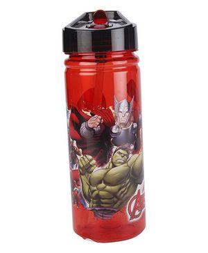 Marvel Avengers Sipper Water Bottle - Red