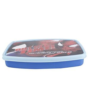 Cello Homeware Snacko Lunch Box Spider Man 2 Print - Blue