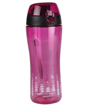 Cello Homeware Sprinter Water Bottle Pink - 600 ml