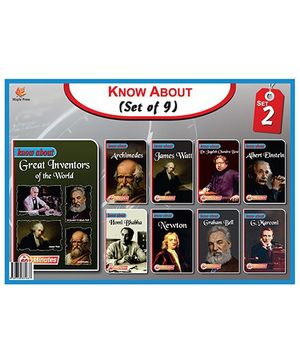 Know About Series Set II Pack Of 9 Books - English
