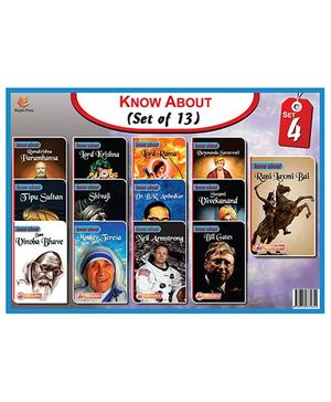 Know About Series Set 4 Pack Of 13 Books - English