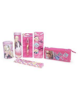 Barbie School Kit Pack Of 6 - Pink