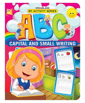 My Activity ABC Capital and Small Writing - English