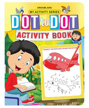 My Activity Dot to Dot Activity Book - English