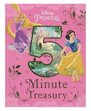Disney Princess 5 Minute Treasury - English