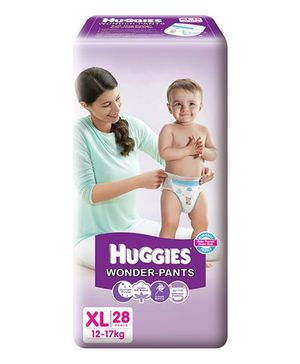 Huggies Wonder Pants Extra Large Size Pant Style Diapers - 28 Pieces