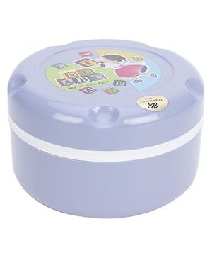 Cello Homeware Insulated Hot Pot Lunch Box ABCD Print - Purple