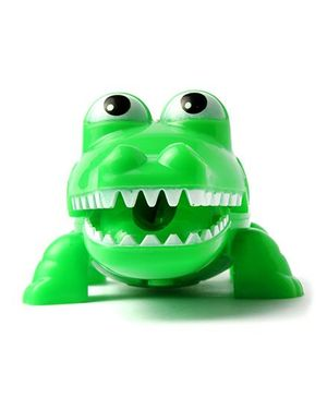 Li'll Pumpkins Alligator Pencil Sharpner With Light - Green
