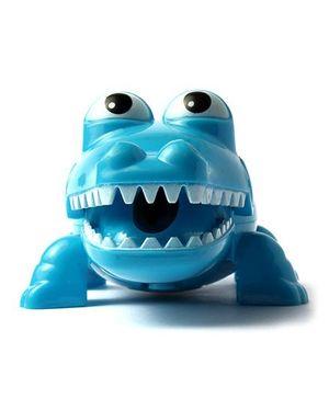 Li'll Pumpkins Alligator Pencil Sharpner With Light - Blue