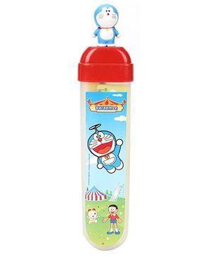 Buddyz Doraemon Figurine Pencil Box - Red