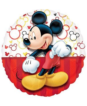 Planet Jashn Disney Mickey Mouse Portrait Happy Birthday Balloon