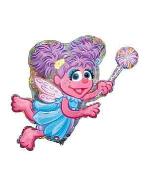 Planet Jashn Abby Cadabby Holographic Supershape Balloon