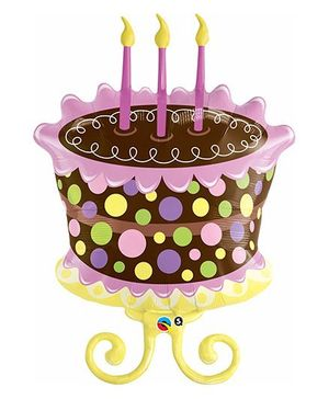 Planet Jashn Decorated Cake Supershape Balloon