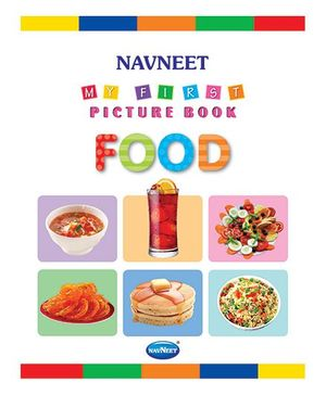 My First Picture Book Food - English