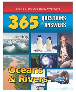 365 Question And Answers Oceans And Rivers Book - English
