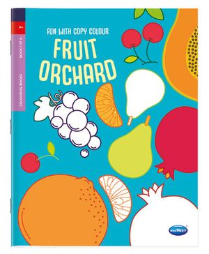 A Book Of Copy Colouring Fruits - English