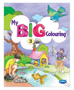 My Big Coloring Book Part 3 - English