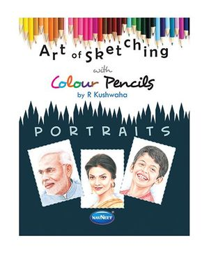 Art Of Sketching With Pack Of Pencils Portrait Book - English
