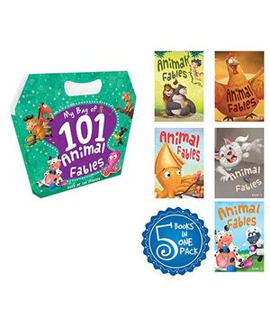 My Bag Of 101 Animal Fables Books - English