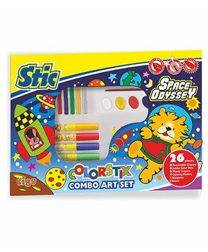 Stic Colorstix Space Odyssey Combo Art Set - 26 Pieces