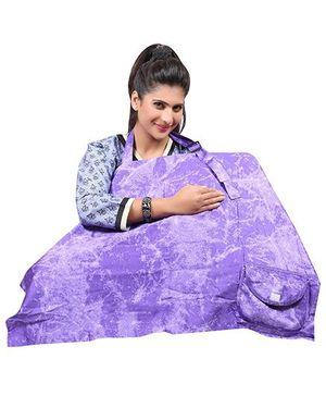 Lulamom Royal Mini Splash Feeding Cloak - Purple