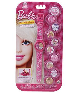 Barbie Mix N Match Covers Digital Watch - Pink
