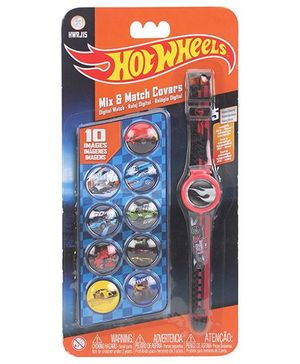 Hot Wheels Digital Watch With 10 Dials