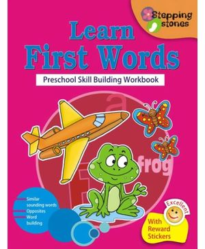 Stepping Stone Series - Learn First Words