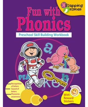 Stepping Stone Series- Fun With Phonics